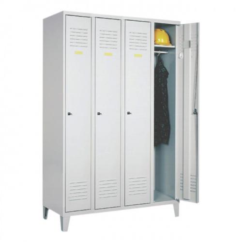 Четырехдверный гардеробный шкаф с ножками sum 341 купить в к.