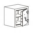 Кабинетный сейф LSP 0 60