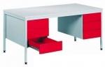 Металлический стол письменный Bim 051