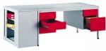 Металлический письменный стол Bim 055