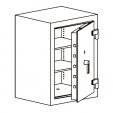 Кабинетный сейф LSP 0 80, LSP 0 100